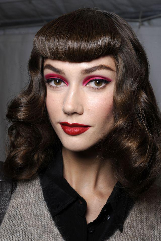 Makijaż na pokazie Dior