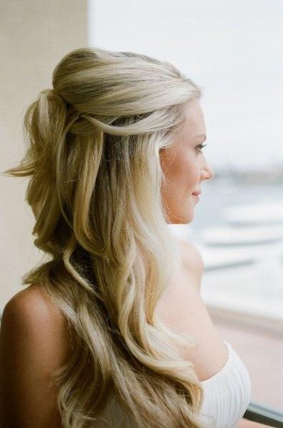 Upięcia Z Długich Włosów Trendy Fryzury Na 2014 Rok
