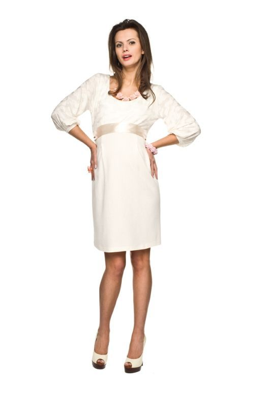 90d54648 Sukienki wizytowe dla kobiet w ciąży