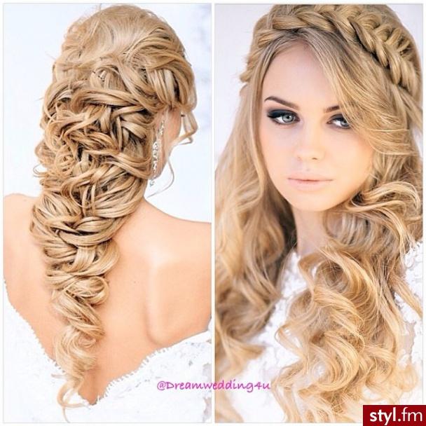 Fryzury ślubne 2014 Propozycje Dla Długich Włosów