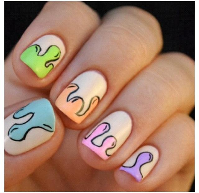 Dripping nail art video nail art ideas nail art dripping paint mailevel prinsesfo Choice Image