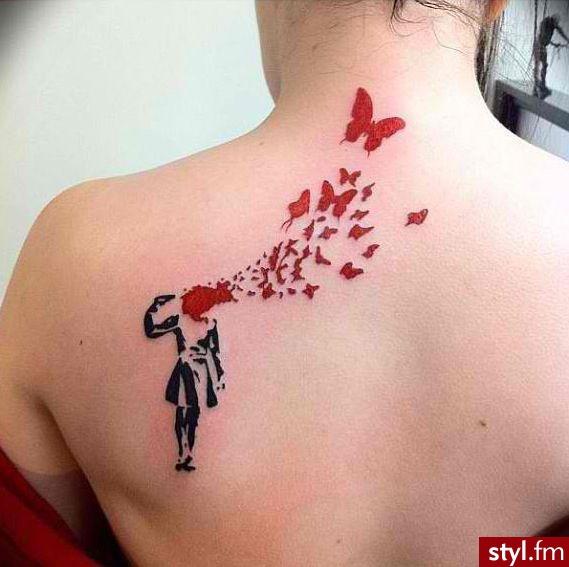 Modne Wzory Tatuażu Zwiewne I Ulotne Motywy Ptaki
