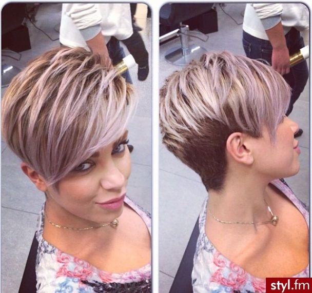 Стрижки и окрашивание для коротких волос