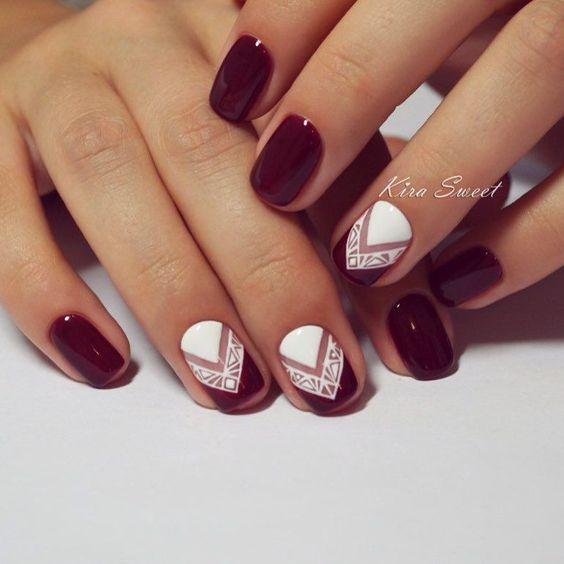 Manicure dla krótkich paznokci - 20 super pomysłów na wzory - photo #45