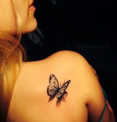 Butterfly Tattoo Niezwykle Dziewczęce Motywy Tatuażu Na