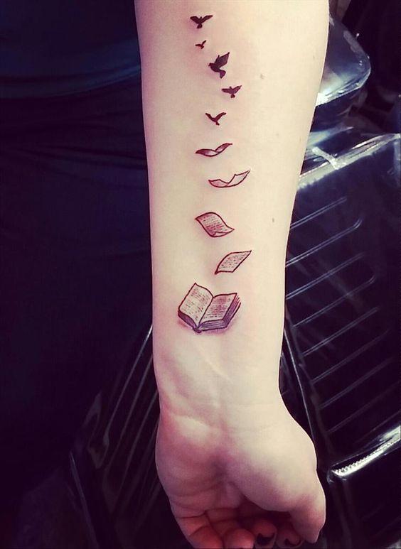 Tatuaże Dla Wielbicieli Książek