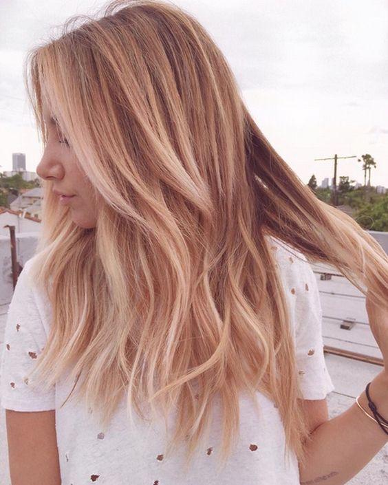Truskawkowy Blond Inspiracje Na Koniec Lata