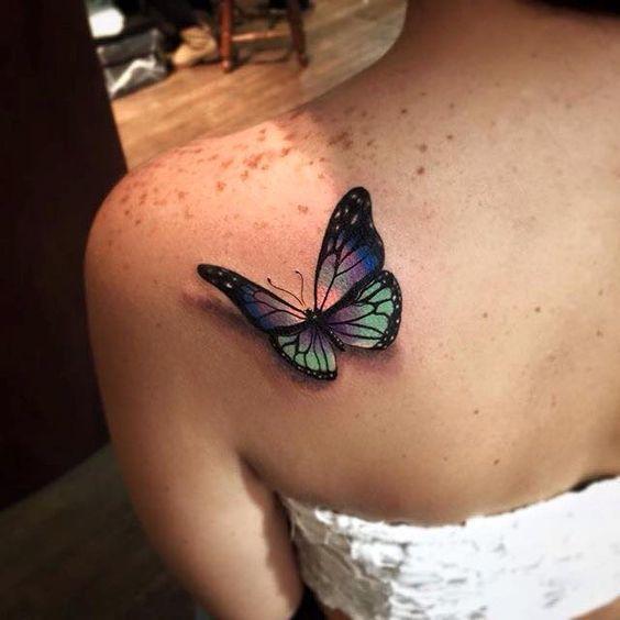 Małe Tatuaże 3d Dla Kobiet Te Wzory To Prawdziwe Cacko