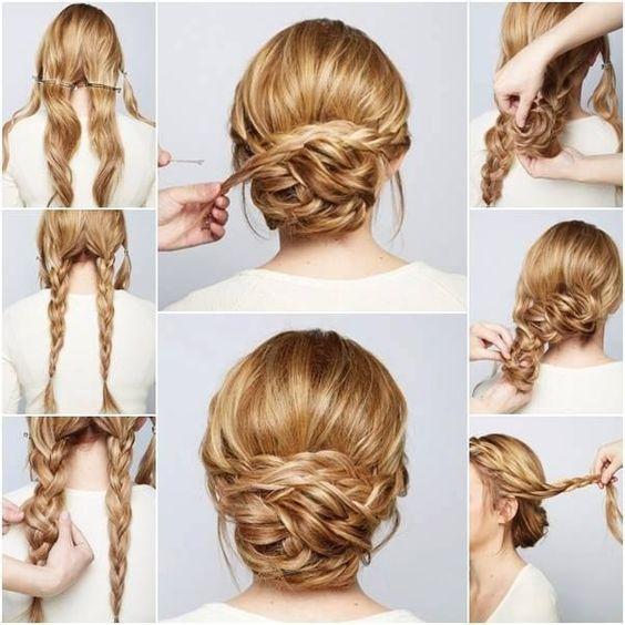 Krok Po Kroku Piękne Fryzurki Dla Półdługich I Długich Włosów