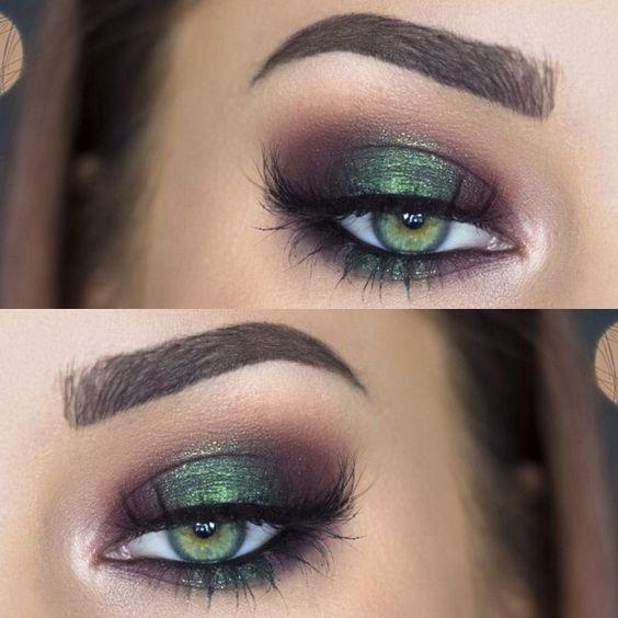 Zielony makijau017c oczu: Ryzykowny kolor? Udowadniamy, u017ce ...