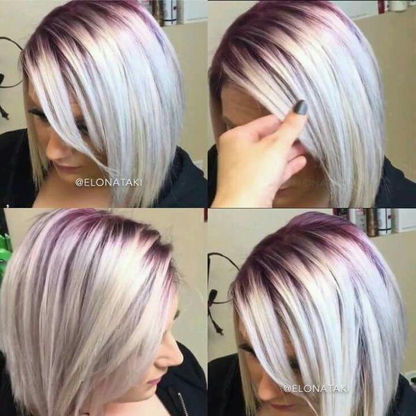 Kolorowe Odrosty Hit W Koloryzacji Włos 243 W Co Powiecie
