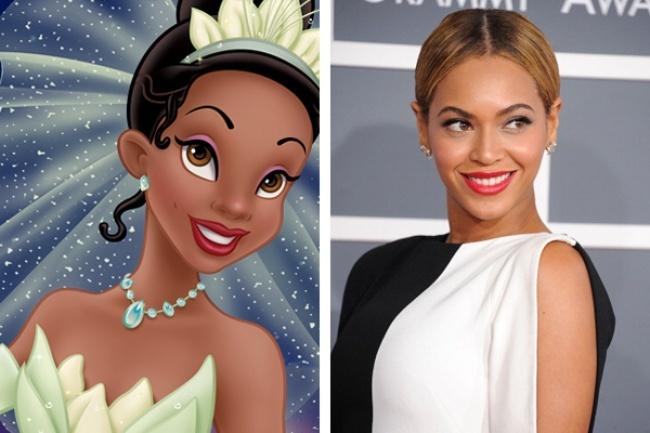 Tiana i Beyoncé