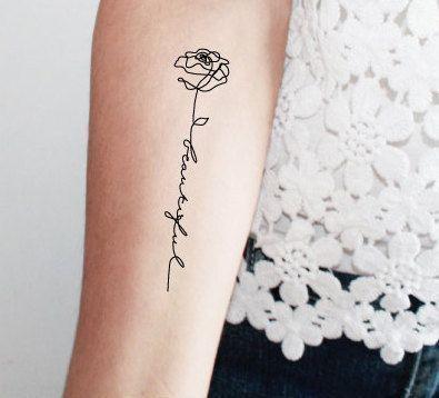 Tatuaże Napisy Galeria Najciekawszych Wzorów Dla Kobiet