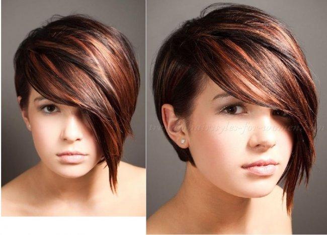 Krótkie Fryzury Najlepsze Asymetryczne Cięcia 2015