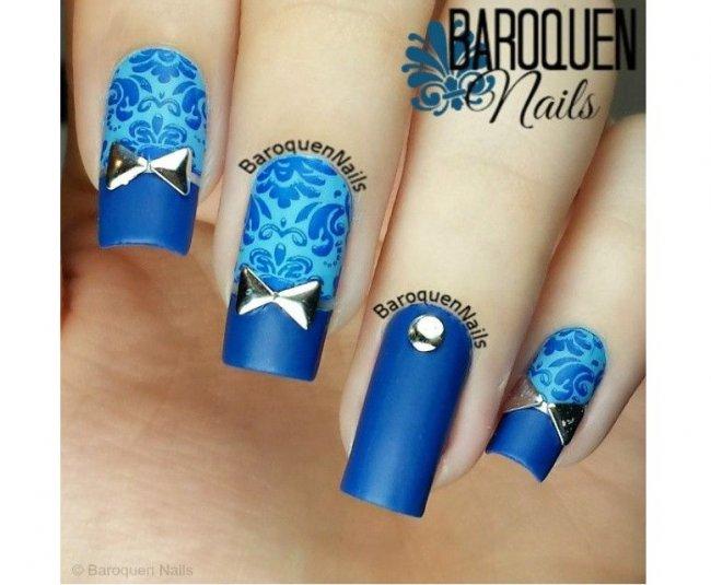 Niebieskie Paznokcie Jak Z Bajki 20 Pomysłów Na Niezwykły Manicure