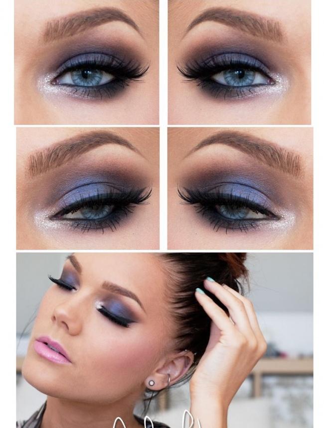 Makijaż Dla Jasnych Oczu Niebieskie I Szare Tęczówki Wyglądają W