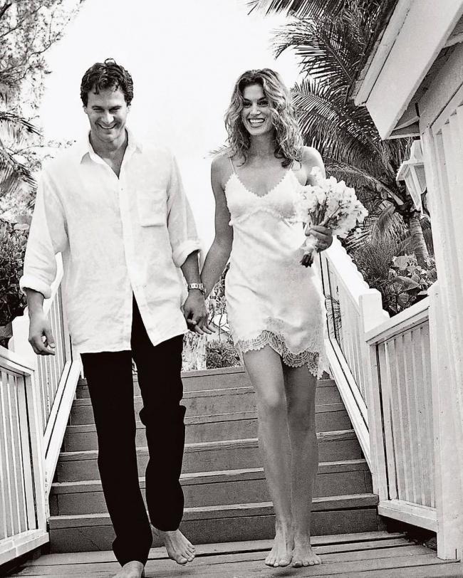 Cindy Crawford i Rande Gerber pobrali się w 1998 roku