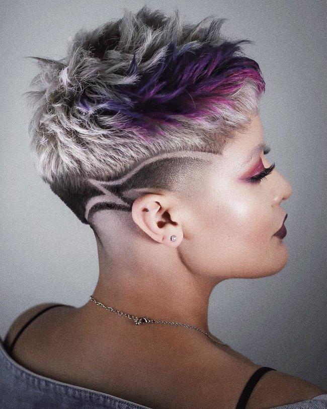 Wygolone Fryzury Dla Kobiet Modne Fryzury Undercut Z