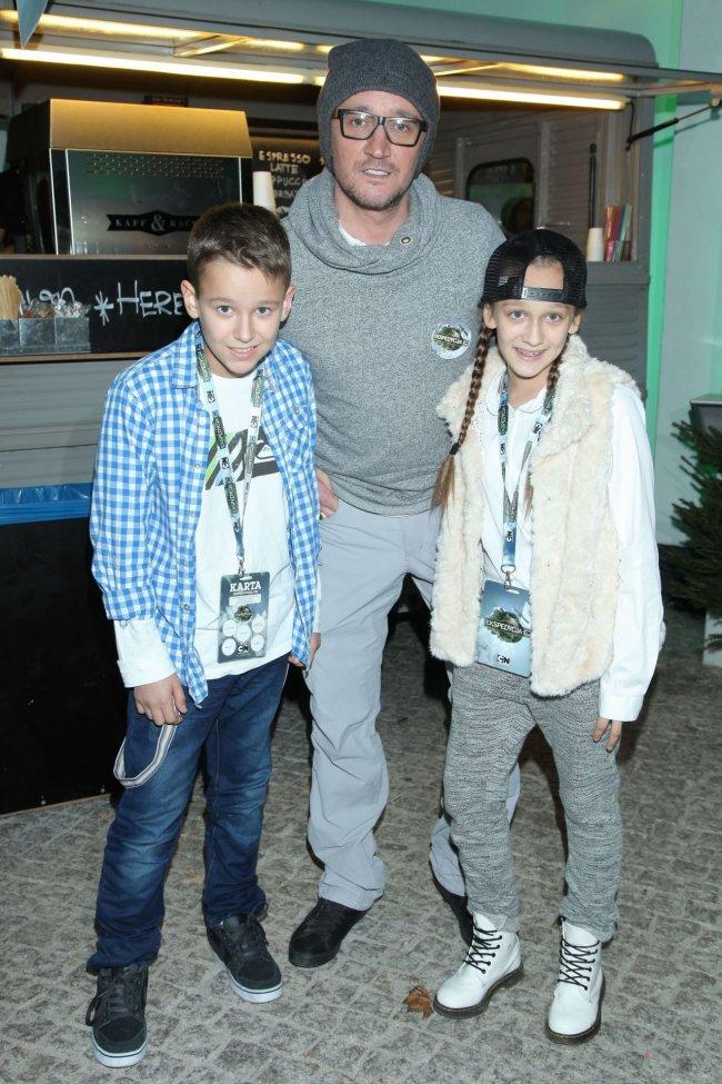 Tak Michał Wiśniewski, jego syn Xavier i córka Fabienne wyglądali w 2014 roku. A teraz?