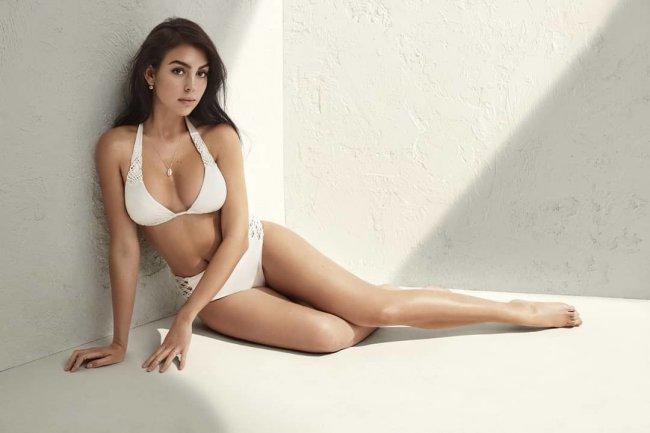 Georgina Rodriguez, piękna, zmysłowa Hiszpanka