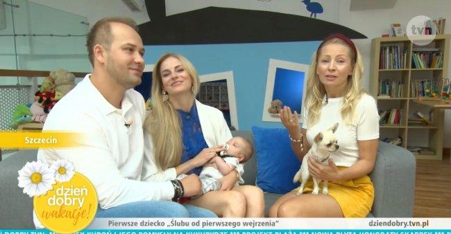 Mały Jerzyk zadebiutował w telewizji!