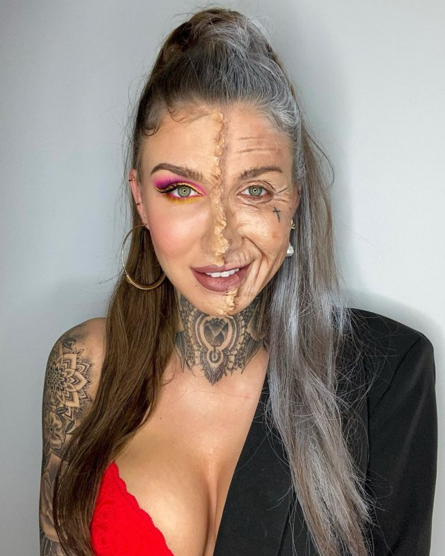 Marita jest mistrzynią makijażu artystycznego!